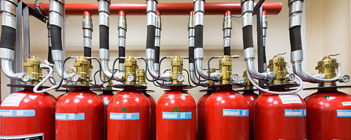 Проектирование системы газового пожаротушения