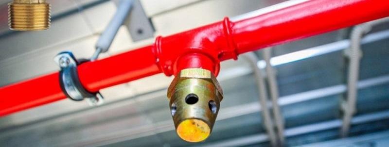 Дренчерная система пожаротушения
