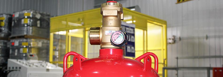 газового пожаротушения